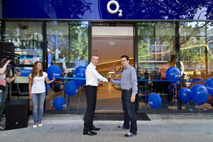 o2 Live Concept Store in Berlin, Foto: Kay Strasser