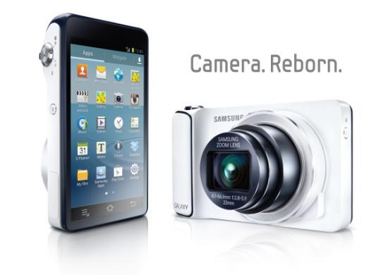 Samsung Galaxy Camera, Bild: Samsung